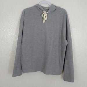 Zara Trafaluc Soft Gray Baggy Sweatshirt. Large